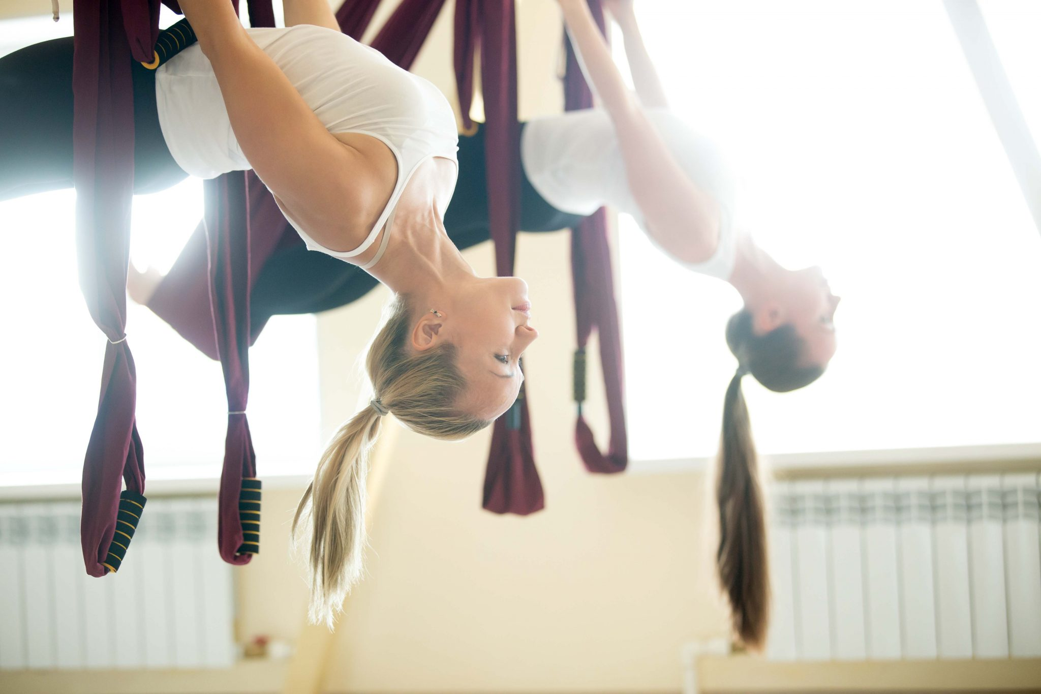 Pilates aereo academia actividades